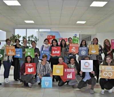 Activitate cu studentii intalnire delegati ONU