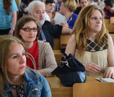 Sesiunea de comunicari studenţeşti Cultură Educaţie Societate 10