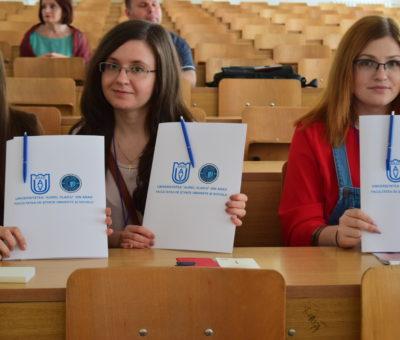 Sesiunea de comunicari studenţeşti Cultură Educaţie Societate 9
