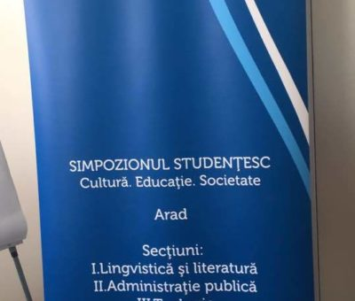 Simpozionul Studentesc Cultura Educație Societate 10