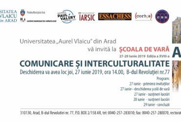 Școala de vară UAV - Comunicare și interculturalitate, Editia a XVIII-a