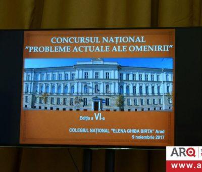 Concursul Naţional Probleme actuale ale omenirii Ediţia a VI a