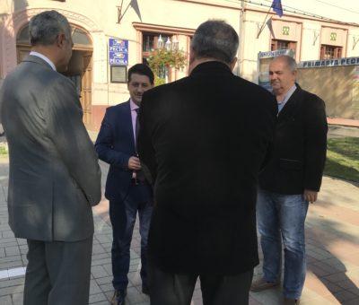 Vizita la Universitatea Aurel Vlaicu din Arad a ambasadorului Mexicului in România 1