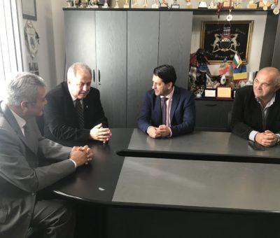Vizita la Universitatea Aurel Vlaicu din Arad a ambasadorului Mexicului in România 2