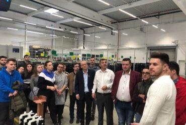 Studentii Facultatii de Inginerie in vizita de studiu la Webasto Romania, 12 noiembrie 2019