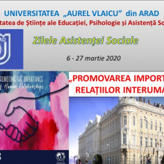 Zilele Asistenței  Sociale la UAV Arad