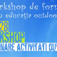 Workshop de formare în Educația Outdoor