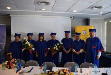 Ceremonia de acordarea a celor două titluri de Doctor Honoris Causa a avut loc în cadrul  Conferinței Internaționale  VTCA 2019