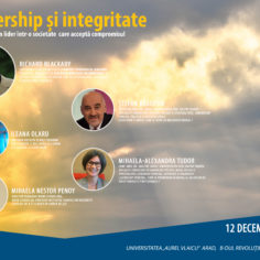 """Leadership si integritate"","
