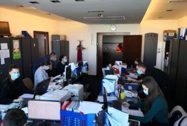 Studenții UAV, voluntari la DSP Arad