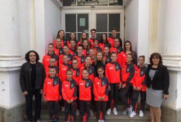 Paricipare la Campionatul Naţional de Gimnastică Aerobică