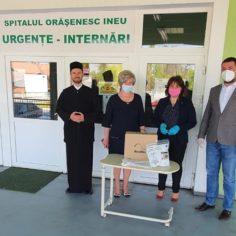 AVU and ARAD`s Archiepiscopacy donation towards Ineu City Hospital