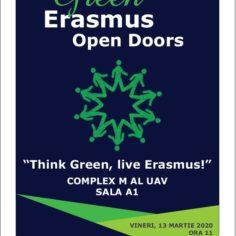 Think Green, live Erasmus!