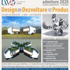 ADMITERE MASTER - Design și dezvoltare de produs