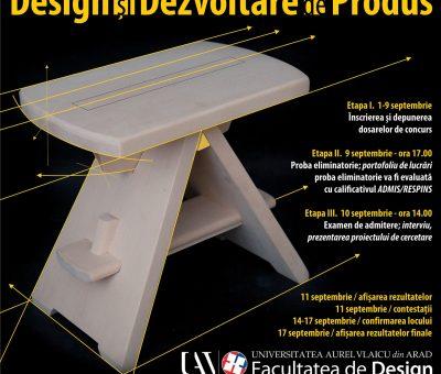 Admitere M Asre Design și Dezvoltare de Produs