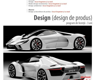 Admitere Specializarea Design
