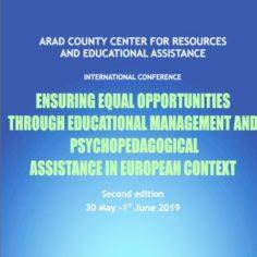 Asigurarea egalităţii de şanse prin management educaţional şi servicii de asistenţă psihopedagogică în context european